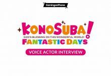KonoSuba: Fantastic Days voice actors interview