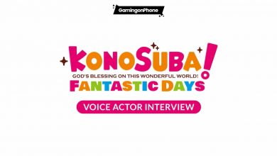 KonoSuba: Fantastic Days voice actors interview