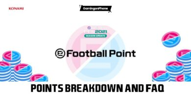 PES 2021 efootball points