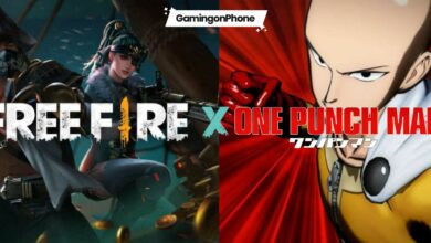 Free Fire One Punch Man Collaboration