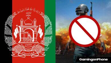 afghanistan pubgm ban
