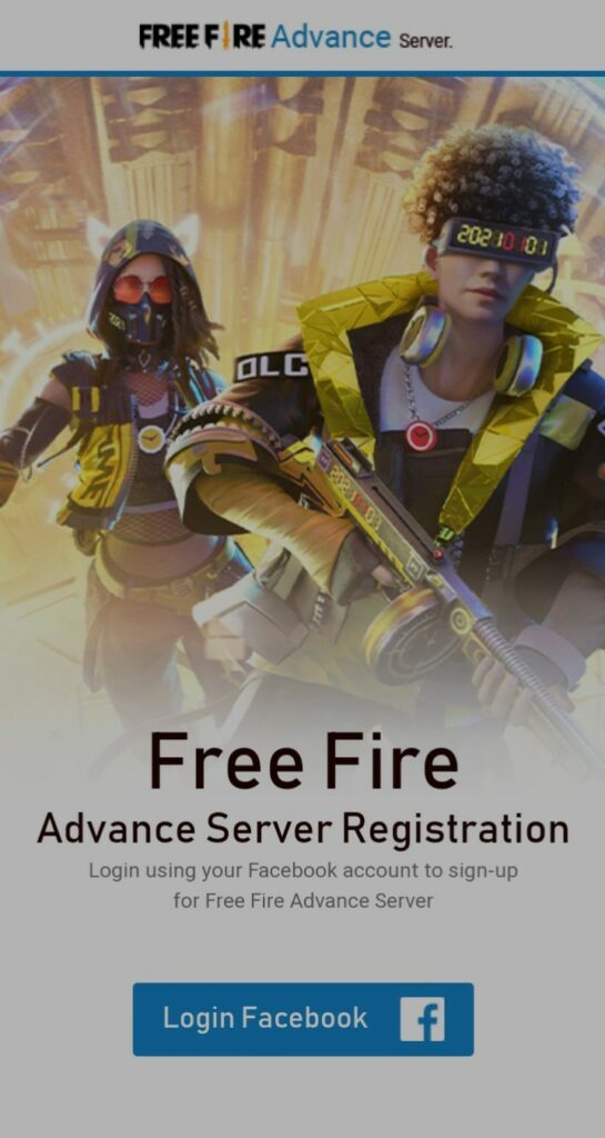 Free Fire OB26 advance server registration