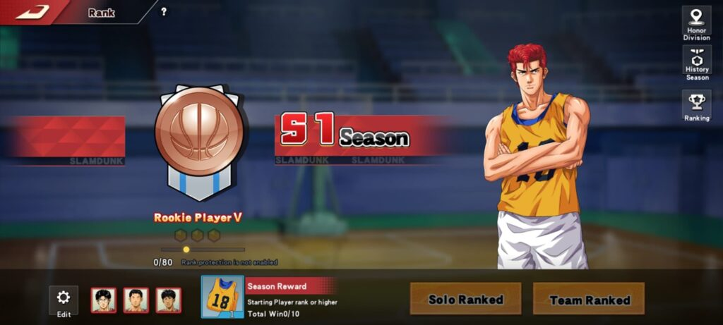 Slam Dunk mobile game beginners guide