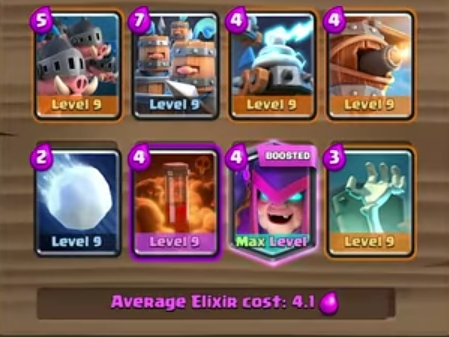 Clash Royale best decks for mini collection challenge