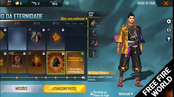 Free Fire Season 33 Elite Pass