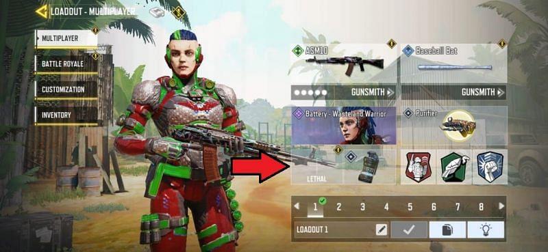 COD Mobile Combat Axe
