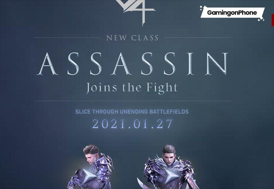 MMORPG V4 Assassin class update
