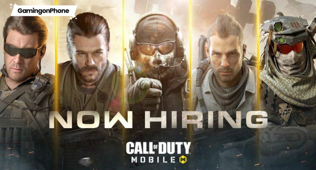 Activision COD Mobile Hiring