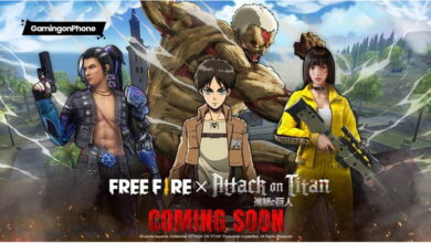 Free Fire Attack on Titan