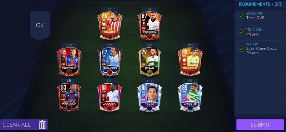 FIFA Mobile 21 Icons Strike SBC