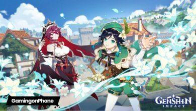 Genshin Impact Version 1.4 Update