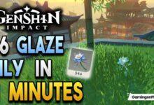 Glaze Lily Genshin Impact