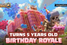 Clash Royale 5 years