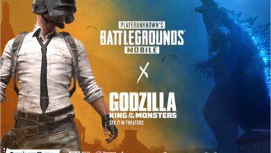 PUBG Mobile Godzilla vs Kong