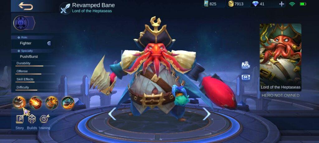 Revamped Bane Model