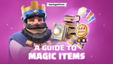 Clash Royale Magic Items guide