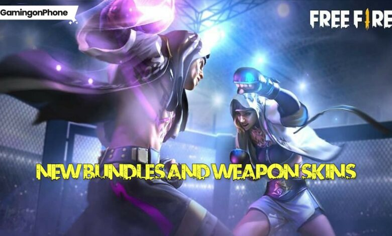 Free Fire OB27 bundles and skins