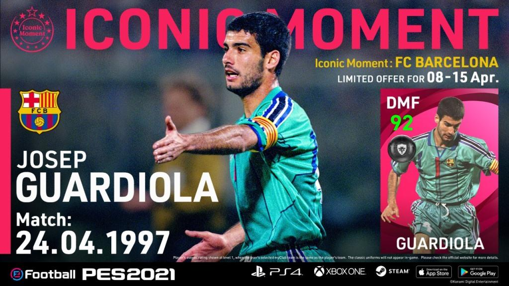 Barcelona Iconic Moments PES 2021