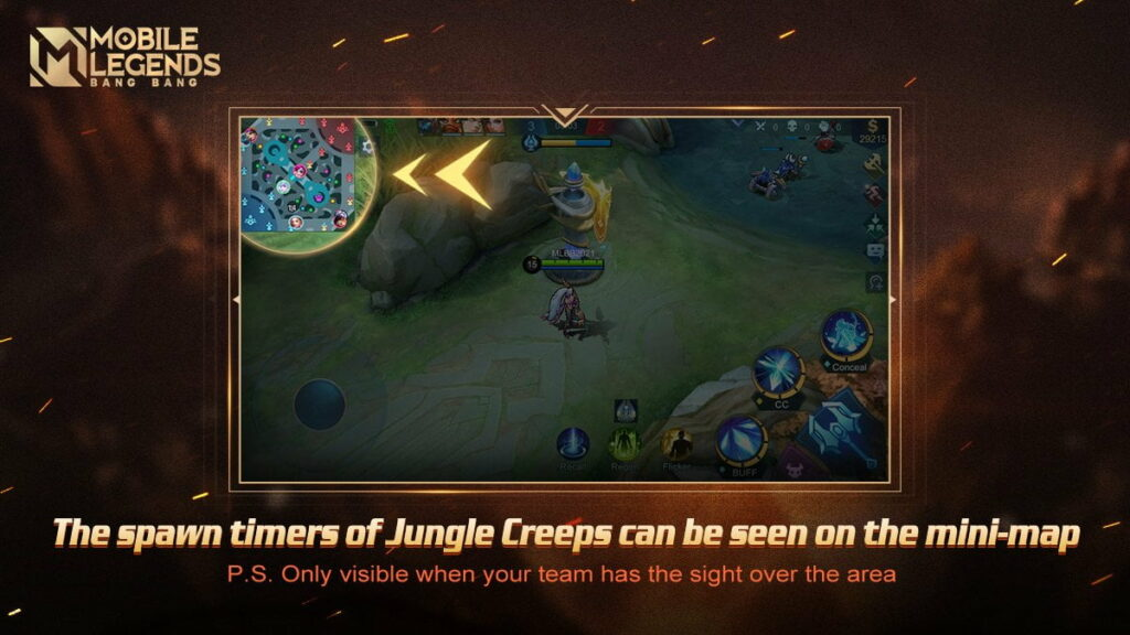 Mobile Legends Revamped Mini Map