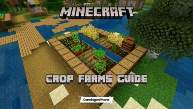 Minecraft crop farms guide