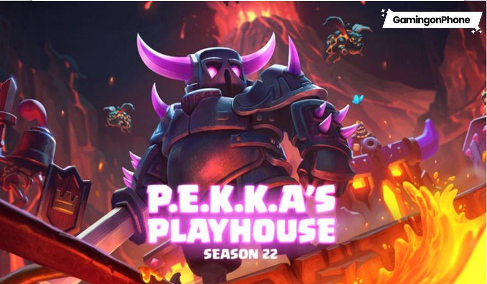 Pekka's Playhouse Season 22 Clash Royale