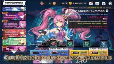 Reroll in Gacha Games