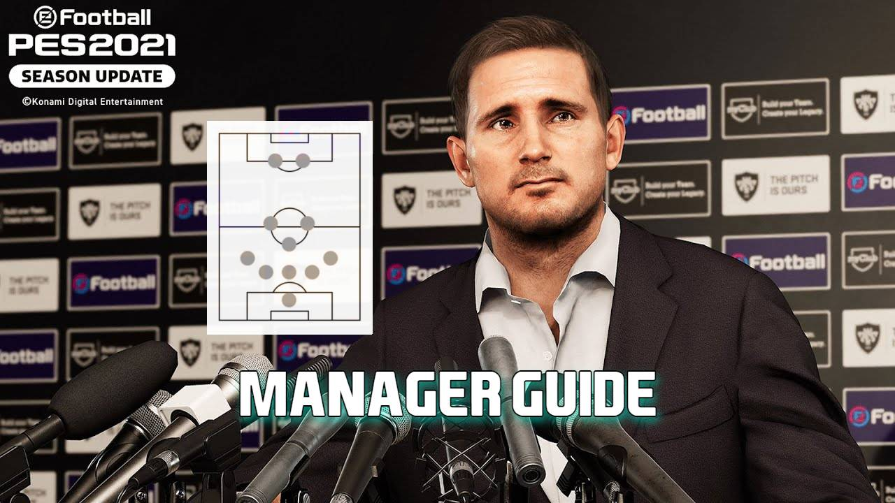 PES 2021 Reja Manager Guide