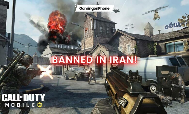 Call of Duty Mobile banned in Iran