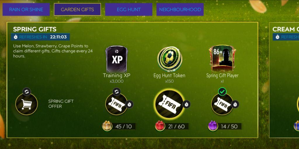 FIFA Mobile 21 Spring Break