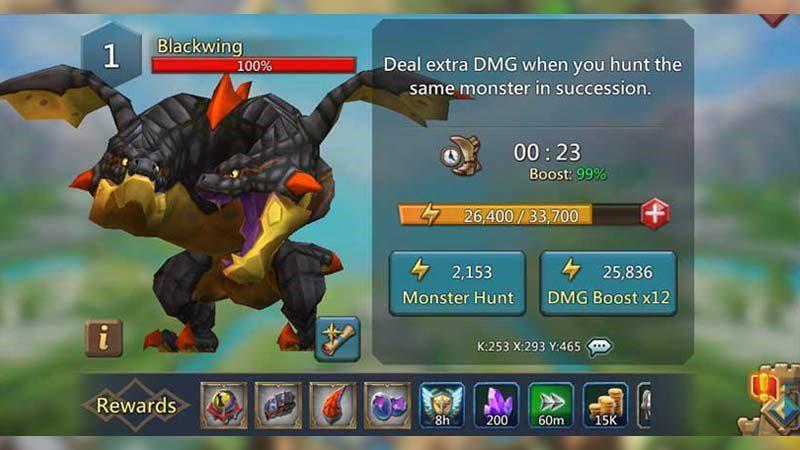 Lords Mobile Monster Hunt guide