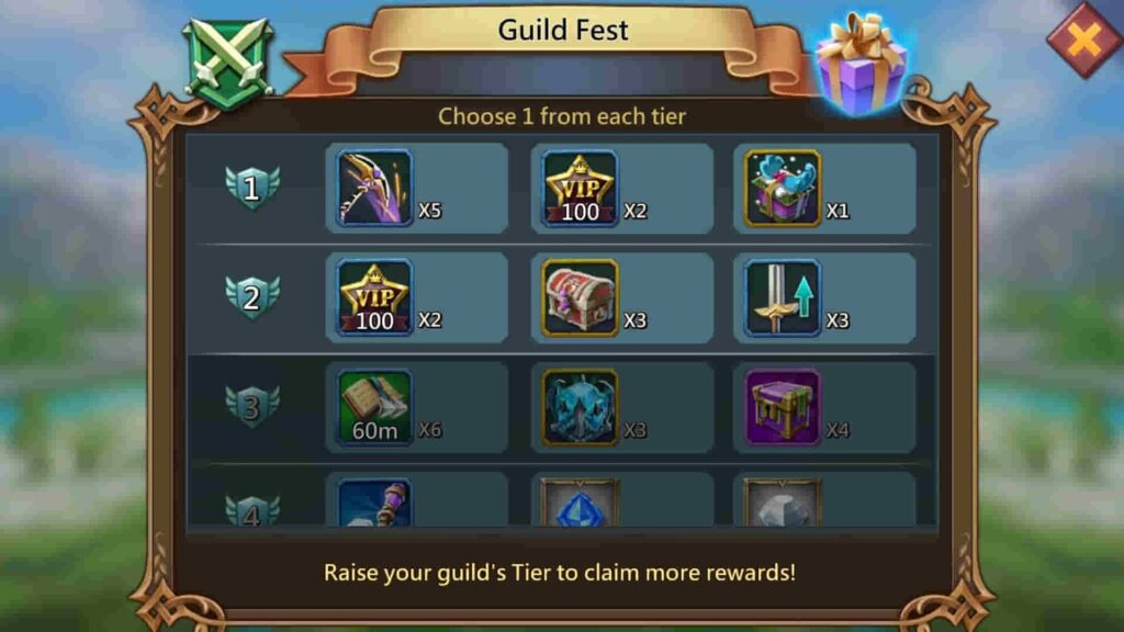 Lords Mobile Guild Fest Guide