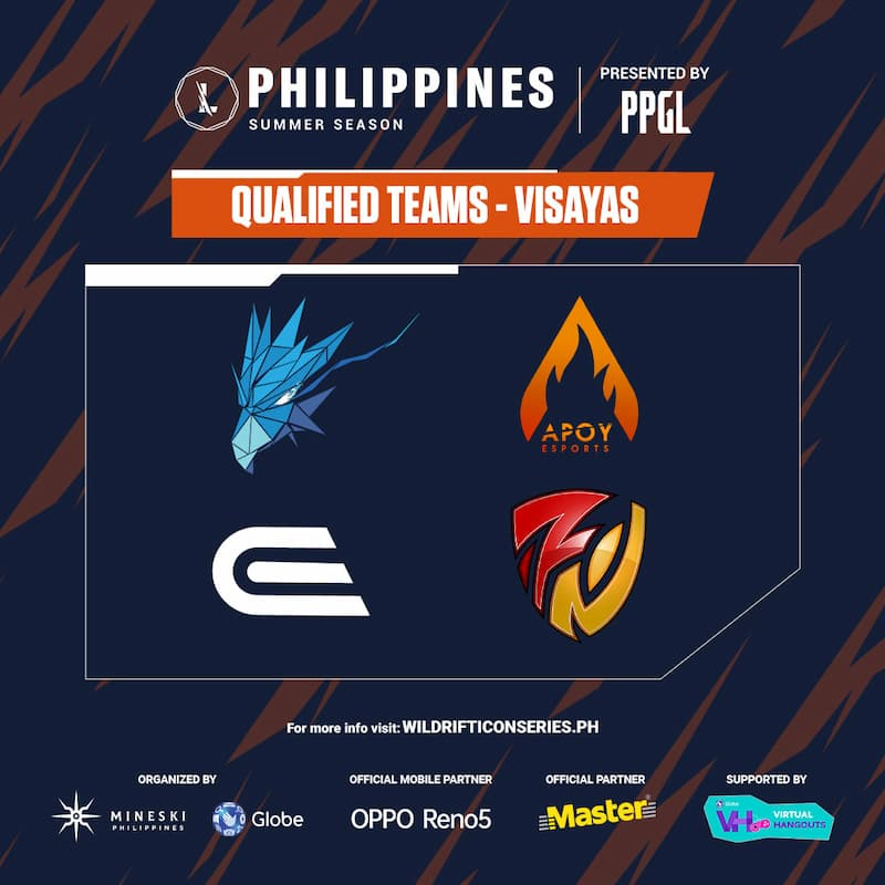 PPGL visayas, Wild Rift Icon series Ph summer season