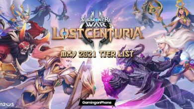 Lost Centuria May 2021 Tier list