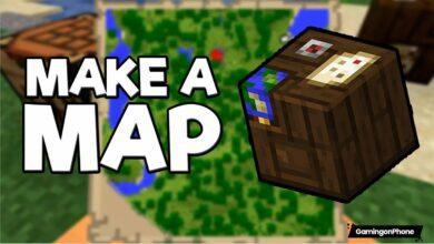 Minecraft create map