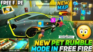Free Fire Pet Rumble Mode