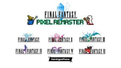 Final Fantasy Pixel Remaster series