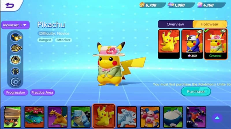 Pokemon unite, pikachu pokemon unite
