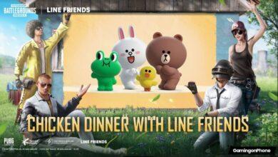 PUBG Mobile partner LINE FRIENDS