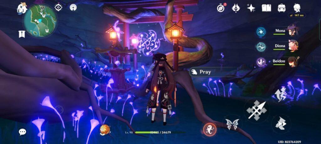 Genshin Impact A Strange Story in Konda Quest