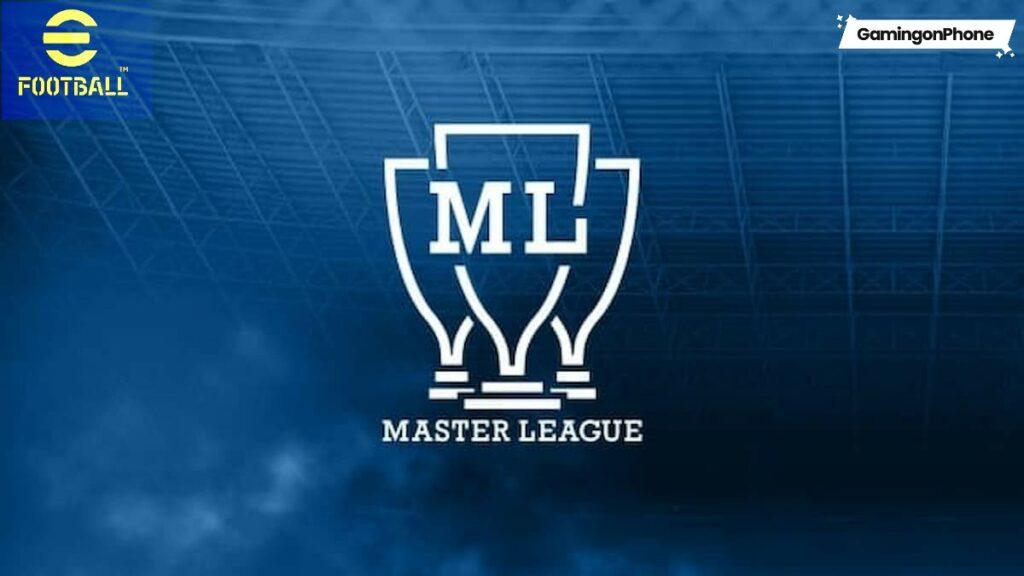 eFootball 2022 Master League