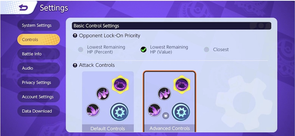 Pokémon Unite best settings mobile