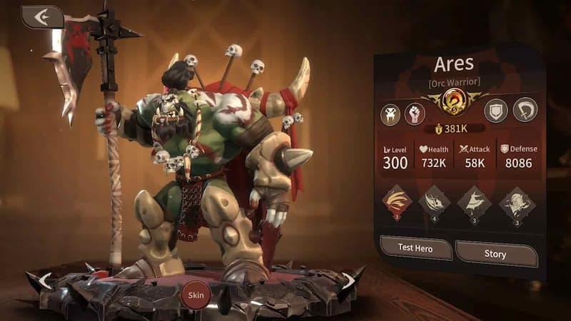 ares Magnum Quest - Hero Tier List September 2021
